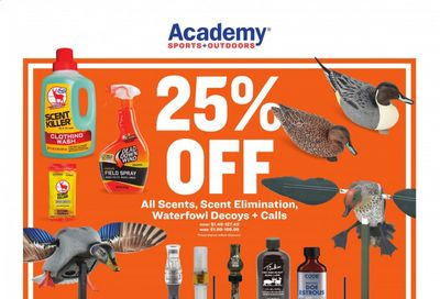 Academy Sports Weekly Ad Flyer January 18 to January 31