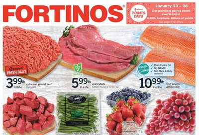Fortinos Flyer January 23 to 29