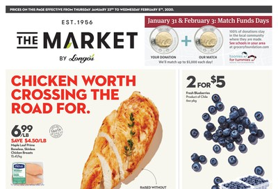 The Market by Longo's Flyer January 23 to February 5