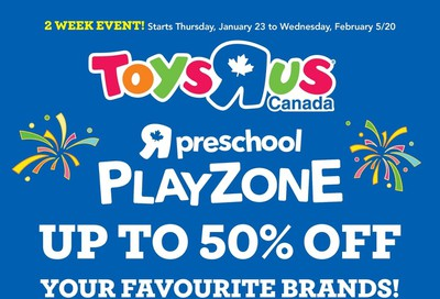 Toys R Us Flyer January 23 to February 5