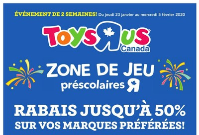 Toys R Us (QC) Flyer January 23 to February 5
