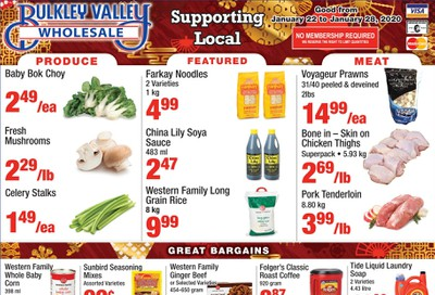 Bulkley Valley Wholesale Flyer January 22 to 28