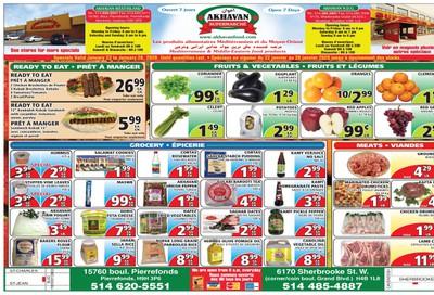 Akhavan Supermarche Flyer January 22 to 28