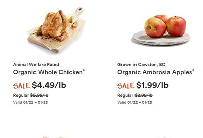 Whole Foods Market (West) Flyer January 22 to 28