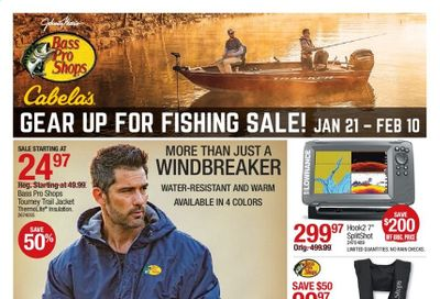 Cabela's Weekly Ad Flyer January 21 to February 10