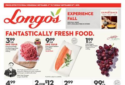 Longo's Flyer September 4 to 10