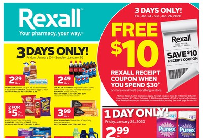 Rexall (West) Flyer January 24 to 30