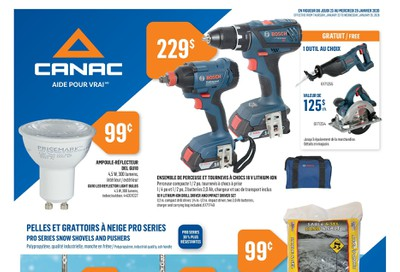 Canac Flyer January 23 to 29
