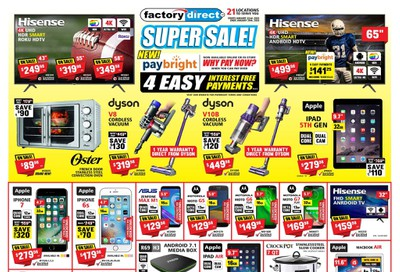 Factory Direct Flyer January 22 to 29