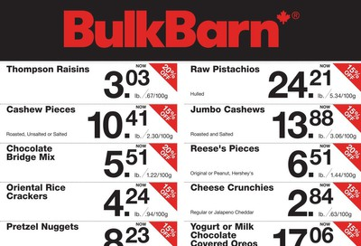 Bulk Barn Flyer January 23 to 29