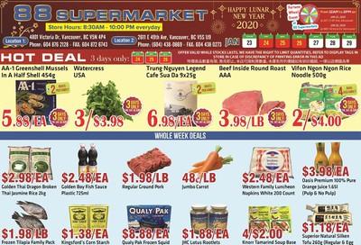 88 Supermarket Flyer January 23 to 29