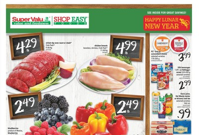Shop Easy & SuperValu Flyer January 24 to 30