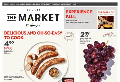 The Market by Longo's Flyer September 4 to 10