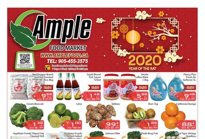 Ample Food Market Flyer January 24 to 30