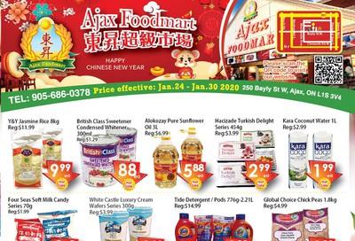 Ajax Foodmart Flyer January 24 to 30
