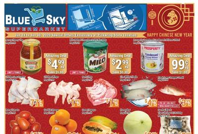 Blue Sky Supermarket (Pickering) Flyer January 24 to 30