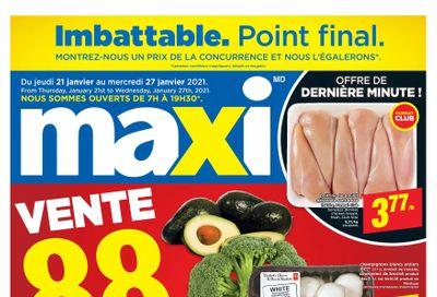 Maxi Flyer January 21 to 27