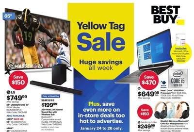 Best Buy Flyer January 24 to 30