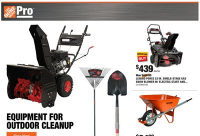 The Home Depot Weekly Ad Flyer January 18 to January 25