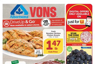 Albertsons Weekly Ad Flyer January 20 to January 26