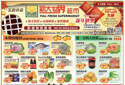 Full Fresh Supermarket Flyer January 24 to 30