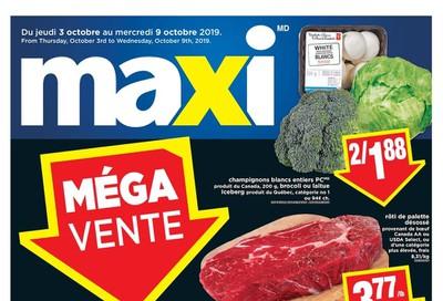 Maxi & Cie Flyer October 3 to 9