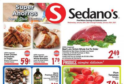 Sedano's (FL) Weekly Ad Flyer January 20 to January 26