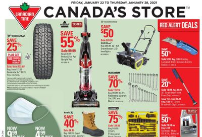 Canadian Tire (ON) Flyer January 22 to 28