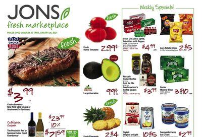 JONS Fresh Marketplace Weekly Ad Flyer January 20 to January 26, 2021