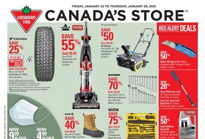 Canadian Tire (Atlantic) Flyer January 22 to 28