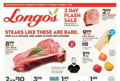 Longo's Flyer October 2 to 8