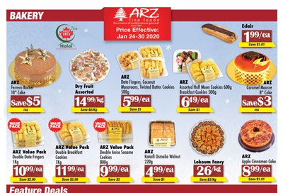 Arz Fine Foods Flyer January 24 to 30