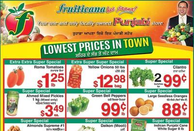 Fruiticana (Edmonton) Flyer January 24 to 29