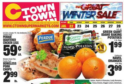 C-Town Weekly Ad Flyer January 22 to January 28