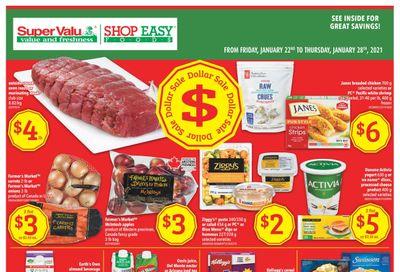 Shop Easy & SuperValu Flyer January 22 to 28