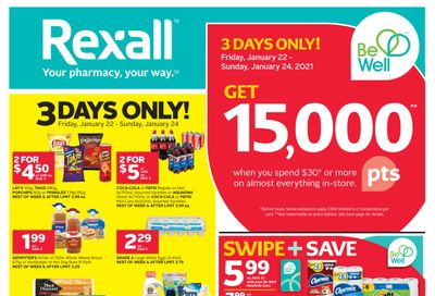 Rexall (ON) Flyer January 22 to 28