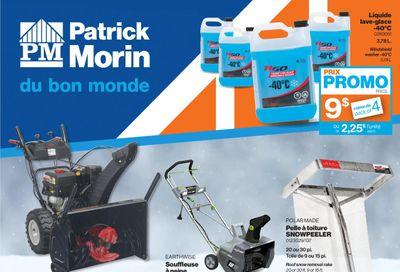 Patrick Morin Flyer January 21 to 27