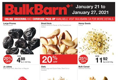 Bulk Barn Flyer January 21 to 27