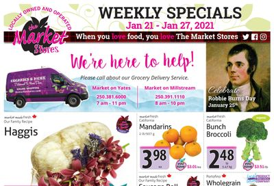 The Market Stores Flyer January 21 to 27