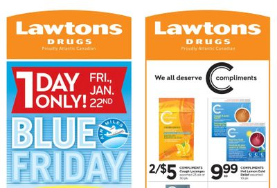 Lawtons Drugs Flyer January 22 to 28