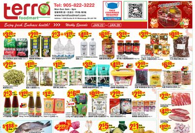Terra Foodmart Flyer January 22 to 28