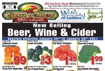Sun Valley Market Flyer January 22 to 28