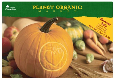 Planet Organic Market (ON) Flyer October 2 to 28