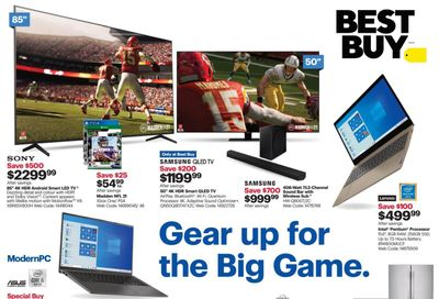 Best Buy Flyer January 22 to 28