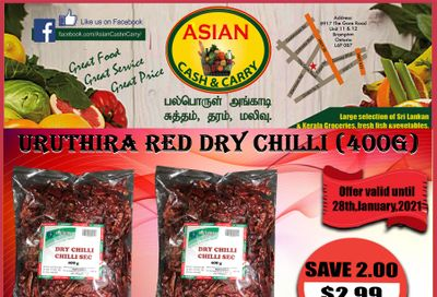 Asian Cash & Carry Flyer January 22 to 28