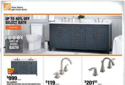 The Home Depot Weekly Ad Flyer January 21 to January 28