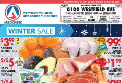 Associated Supermarkets Weekly Ad Flyer January 22 to January 28