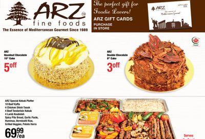 Arz Fine Foods Flyer January 22 to 28