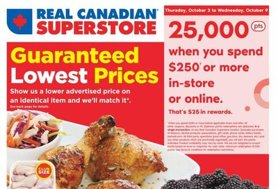 Real Canadian Superstore (ON) Flyer October 3 to 9