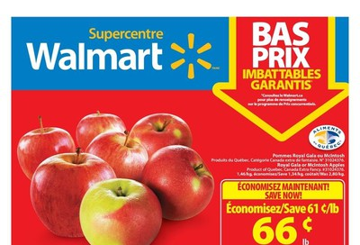 Walmart Supercentre (QC) Flyer October 3 to 9